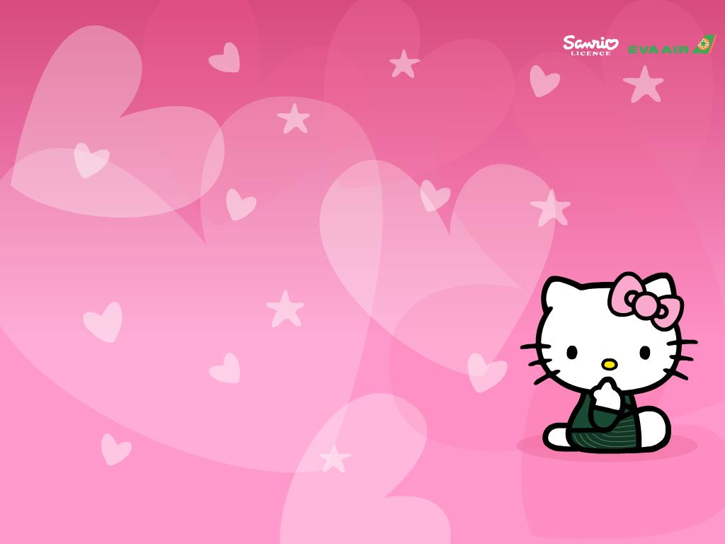 Fonds d'écran Hello Kitty - hello-kitty - acheter a petit prix